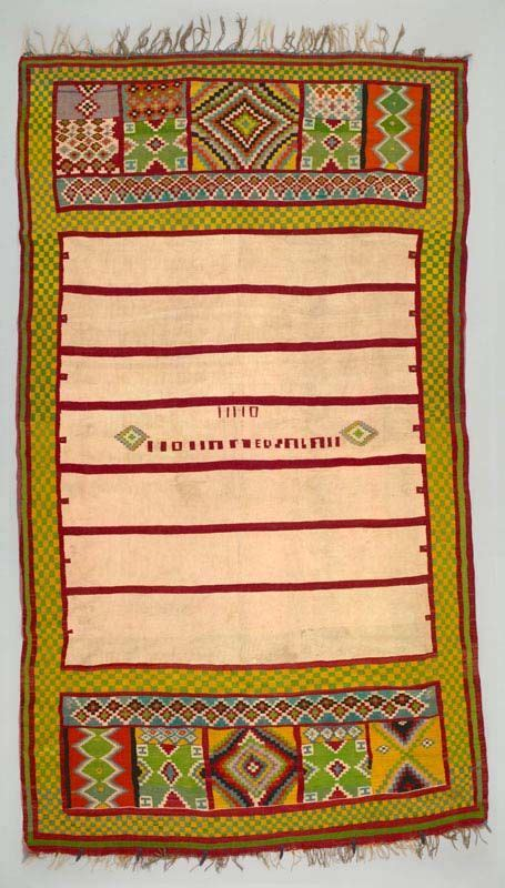 tappeti africani africa blanket houli from gafsa tunisia ca 1950