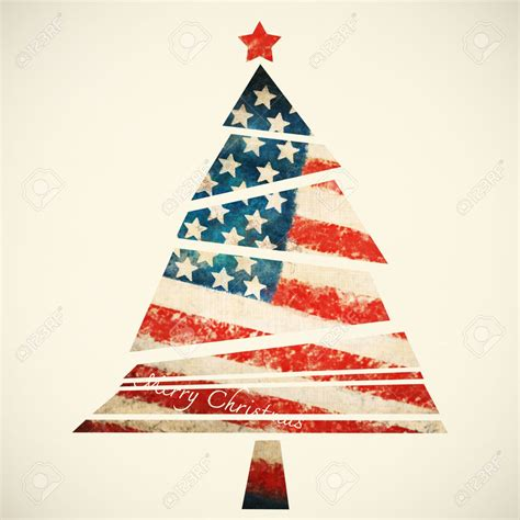 christmas tree america christmas lights decoration