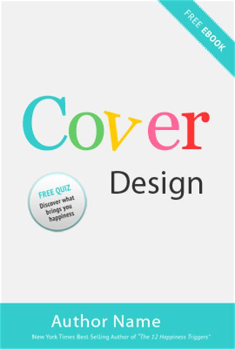 design your cover page 5 best images of cover design free cover design