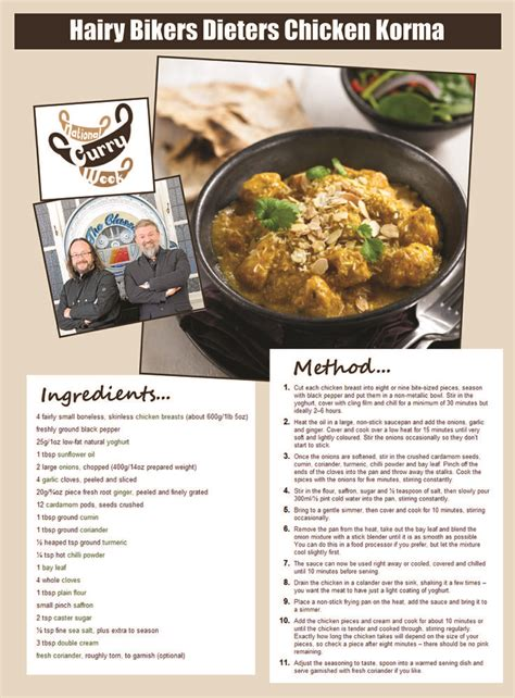 libro the hairy bikers chicken 17 best images about hairy bikers recipes on korma fondant potatoes and sticky date