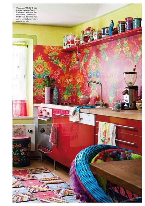 decoracion hippie chic de cocinas  decoracion de