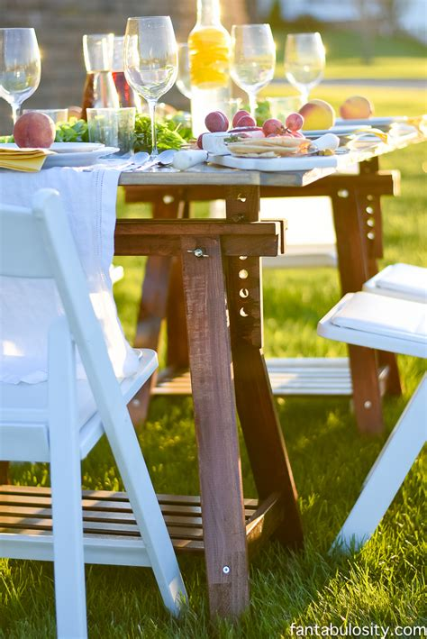 dinner party entertainment ideas pop up backyard dinner party fantabulosity