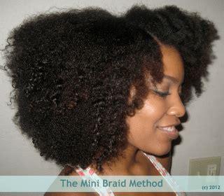 the mini braid method mini braids working out styles the mini braid method