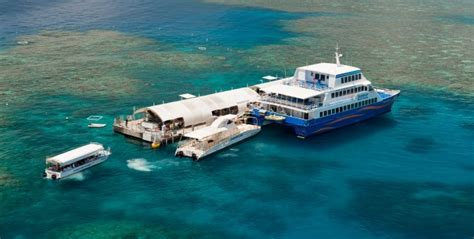 great barrier reef pontoon cairns 2 day 1 night sleep on the great barrier reef