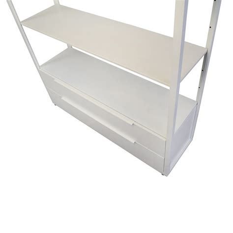 shelving unit with drawers white 63 off ikea ikea white shelving unit with drawers storage