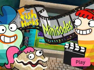 Fish Hooks   Minisodes   Disney Games