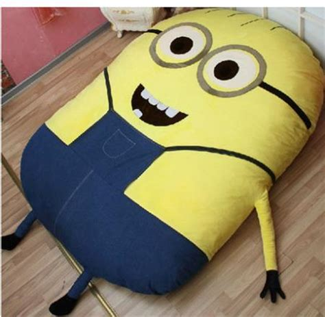 minion bedding minions will haunt your dreams if you sleep on this insane bed huffpost