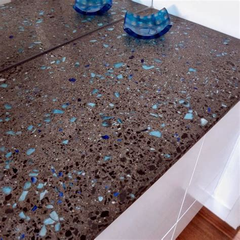 Glass Chips For Concrete Countertops by House Tours Be Cool And Glasses On