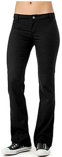 juniors black uniform pants with flap back pocket amazon com dickies girl junior s 5 pocket skinny pant