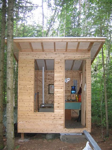 build  outhouse shed diy  repair guides
