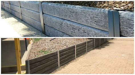 Railway Sleepers Bunnings by 25 Best Ideas About Concrete Sleeper Retaining Walls On
