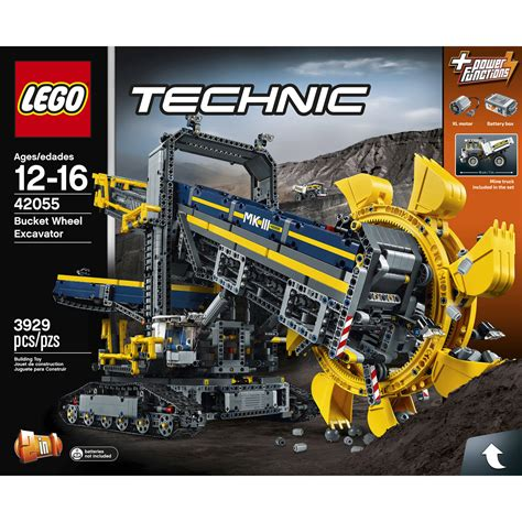 technic bucket wheel excavator technic 42055 building kit bucket wheel excavator 2