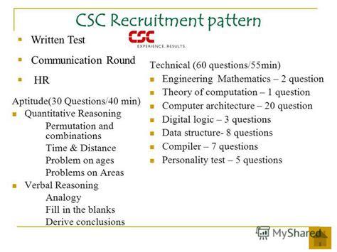 behavior pattern questions презентация на тему quot cus recruitment patterns ppt