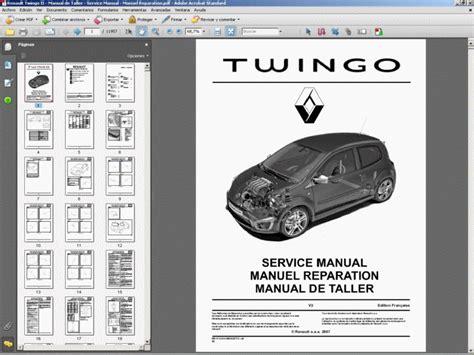 Renault Twingo Ii Manual De Taller Service Manual