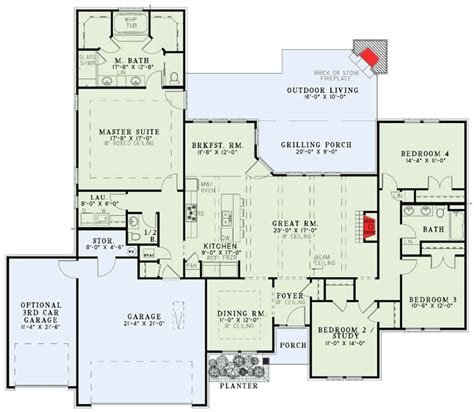 100 Floors Hd Level 89 - plan 60585nd secluded master suite house traditional