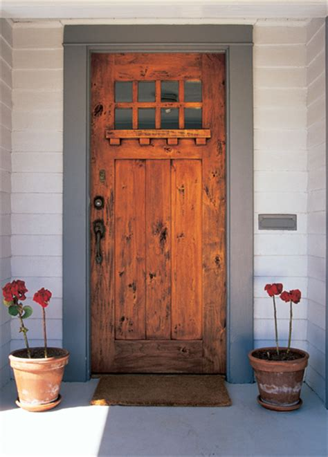 Build Front Door Make Exterior Door Marceladick