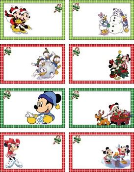 Disney Mickey Mouse Ideas Free Printables Holidappy - mickey tags mickey mouse gift tags free