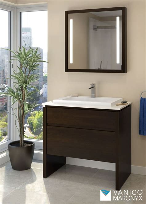 Simple Bathroom Vanity Simple Modern Bath Vanity By Vanico Maronyx Desk Collection Vanico Maronyx
