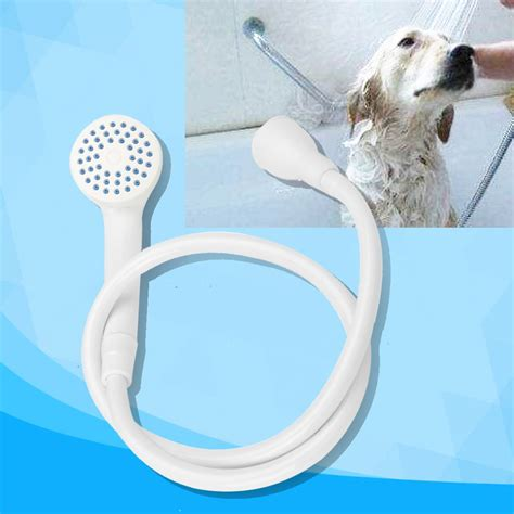 bathtub hose for washing dog single tap pet bath shower spray hose connector rubber