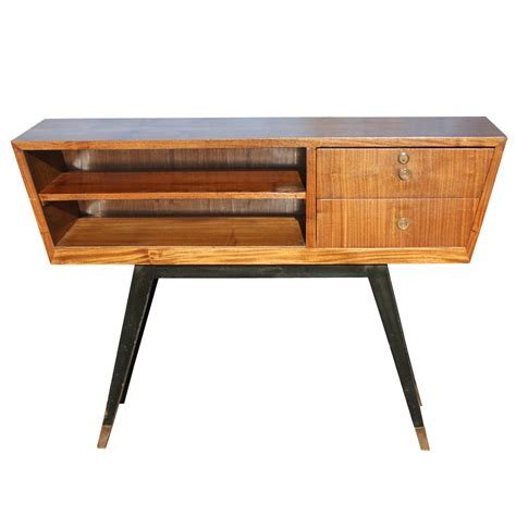 Retro Console Table Midcentury Retro Style Modern Architectural Vintage Furniture From Metroretro And Mcm Consignment