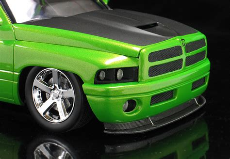 outrageous lime paint pin green dodge ram on 30s outrageous donk on