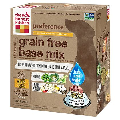 Honest Kitchen Food by The Honest Kitchen Preference Grain Free Base Mix