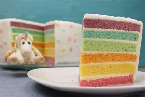 Regenbogen Kuche by Mit Geburtstagskuchen Cake Ideas And Designs