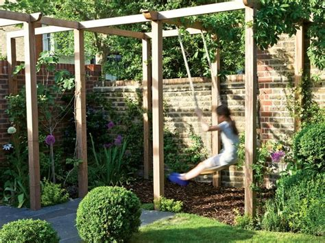 swings for trees in backyard if you no big trees in your backyard for a swing