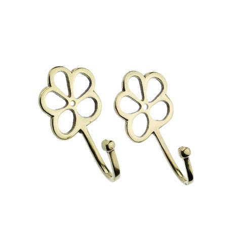 curtains with metal hooks harrison drape clover metal curtain tie back hooks pair