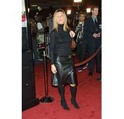 Celebrity Leather Fashions Jennifer Aniston  Friends