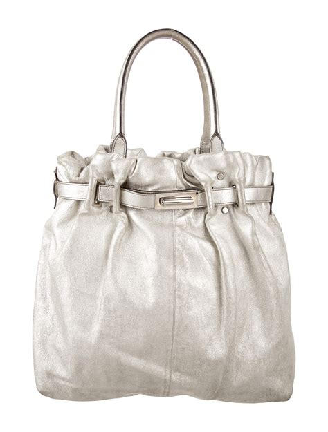 Lanvin Metallic Kentucky Tote by Lanvin Metallic Kentucky Tote Handbags Lan61436 The