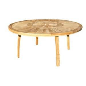 table 8 personnes table de jardin ronde naturel 8 personnes leroy merlin