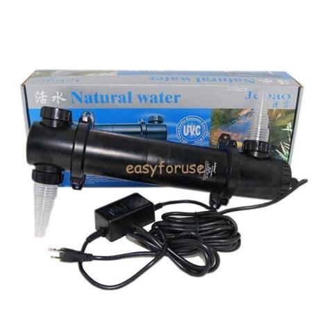 ultraviolet light for fish ponds 36 watt aquarium koi fish pond uv light sterilizer clean