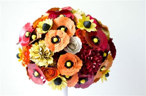 Wedding Bouquet Made From Books by Paper Bridal Bouquet Made From Books Large Custom Made