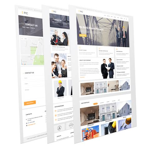 epic templates epic industrial responsive corporate joomla template