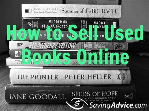 How To Make Money Selling Used Books Online - how to sell used books online for money saving advice saving advice articles