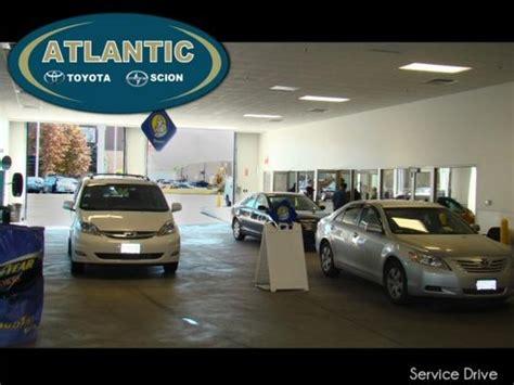atlantic toyota service atlantic toyota ma 01905 car dealership and auto
