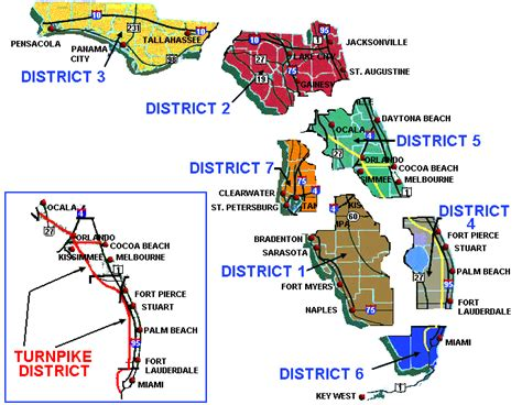 fdot district map fdot roadway design office drainage