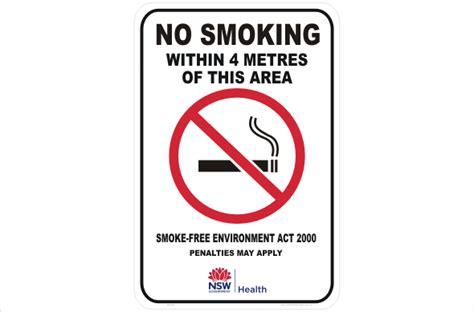 printable no smoking signs australia nsw no smoking sign