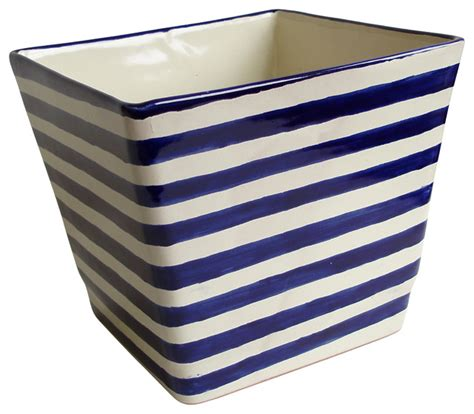 10 diameter ceramic pot blue and white ceramic square planter blue and white contemporary