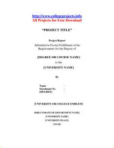 cover page for research paper template