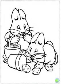 max and ruby coloring pages max and ruby coloring page dinokids org