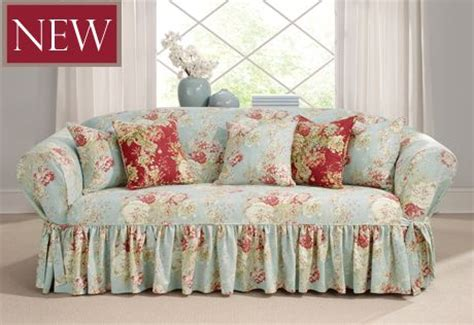 floral slipcover fun with slipcover patterns on pinterest slipcovers