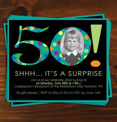 25 best ideas about 50th birthday invitations on