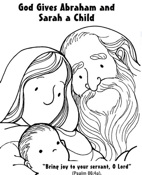 abraham sarah coloring pages murderthestout