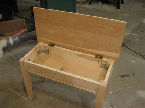 how to make a piano bench piano bench woodworking talk woodworkers forum piano bench