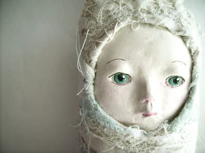 How To Make Paper Mache Dolls - laissezfaire make your own doll