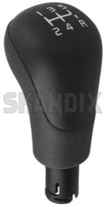 skandix shop volvo parts shift knob synthetic material grey