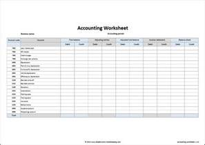 Spreadsheet Accounts Template by 9 Accounting Excel Templates Excel Templates