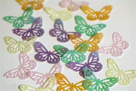 butterfly cookies butterfly cakes wafer paper tutorial 24 lacy edible butterflies for cake decorating cookies